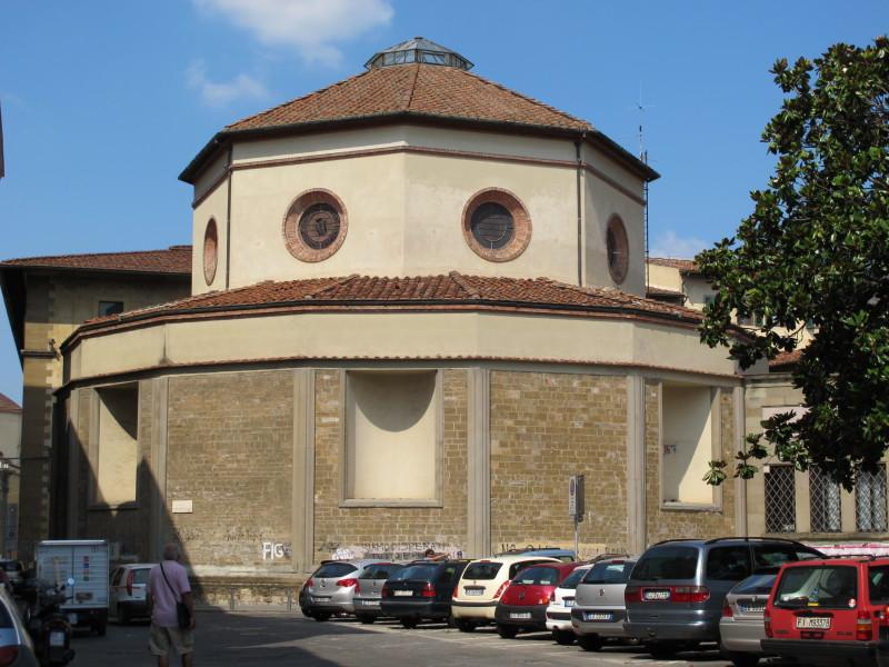 Brunelleschi, rotonda, toc toc firenze