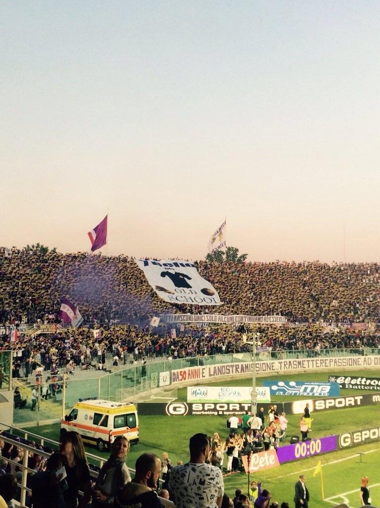 Fiorentina - Carpi, Toc Toc Firenze