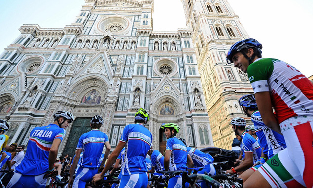 mondiali ciclismo, toc toc firenze