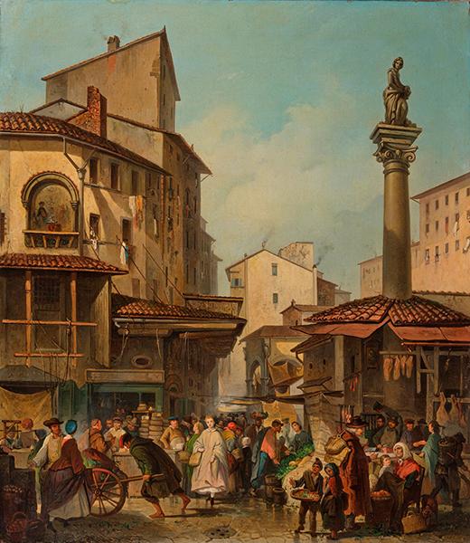 mercato vecchio, toc toc firenze