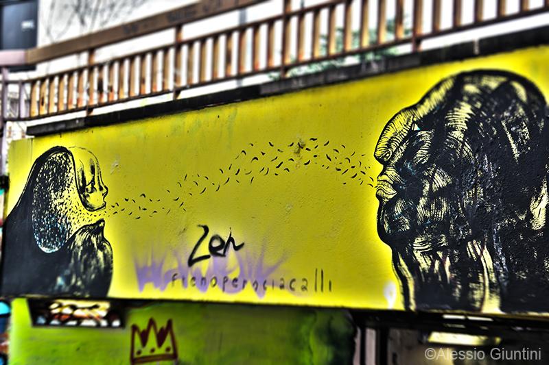 graffiti fiorentini, toc toc fi