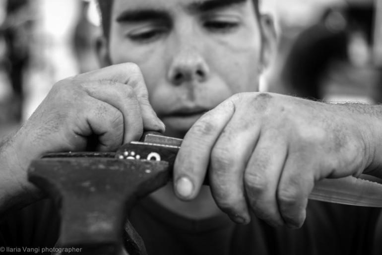 I coltelli dell'artigiano, Ilaria Vangi, Toc Toc Firenze
