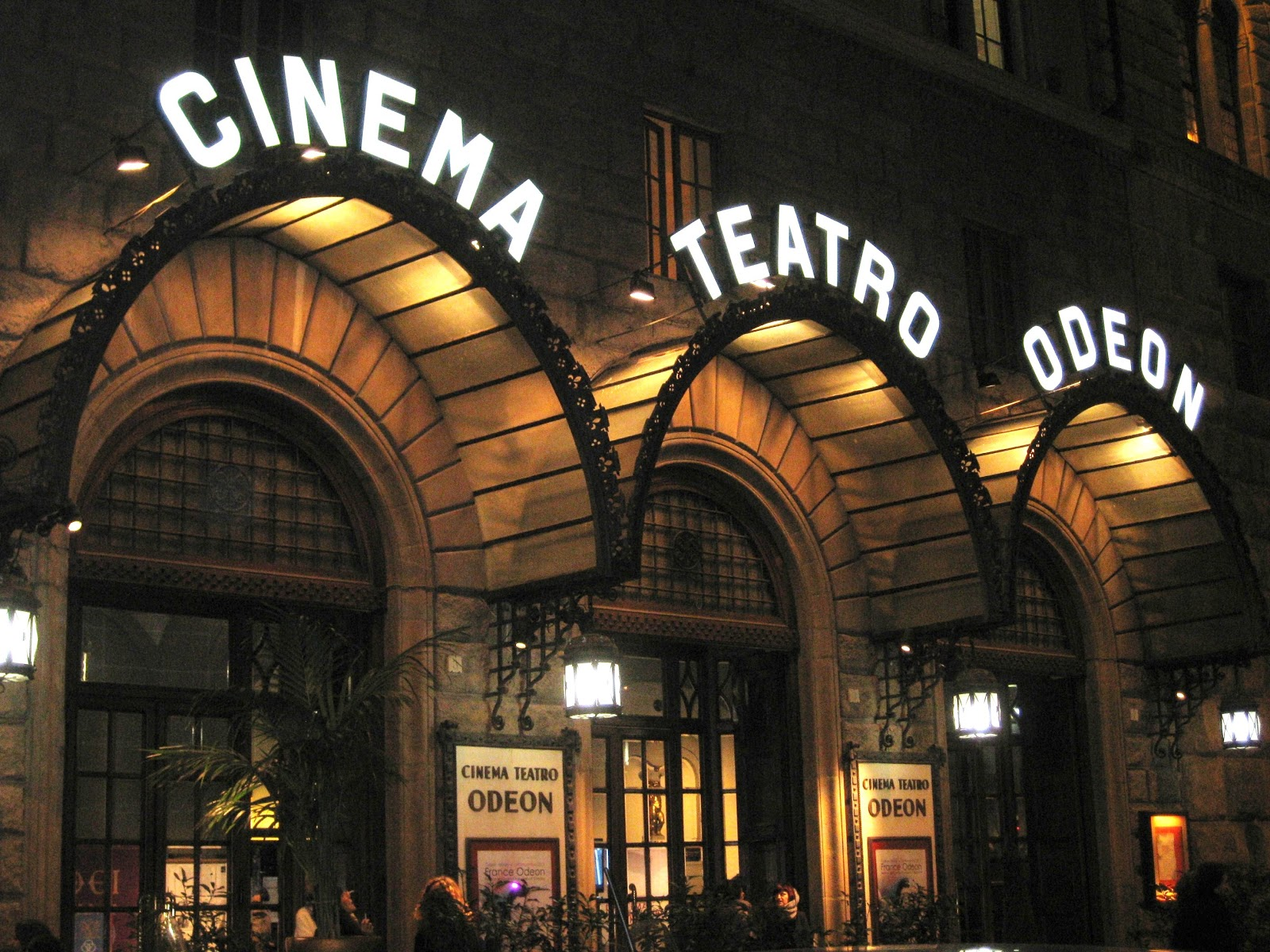 cinema odeon, toc toc firenze