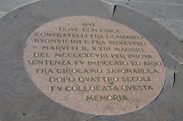 Savonarola, Toc Toc Firenze