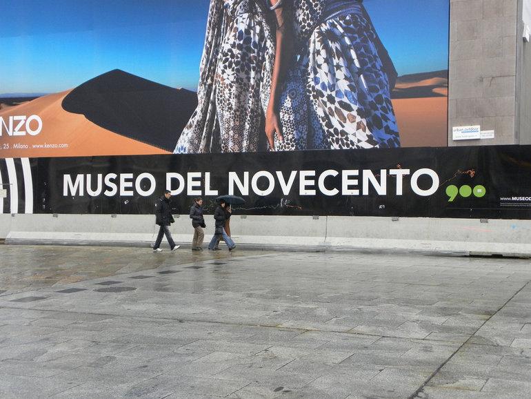 Museo del Novecento, toc toc firenze