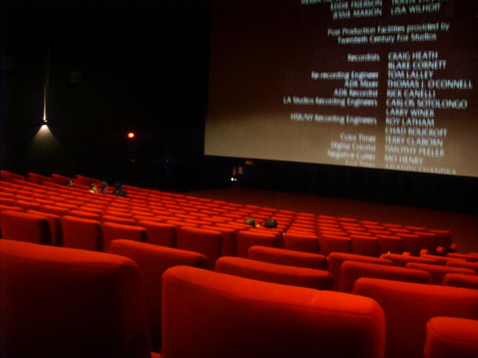 sala cinematografica,toctoc