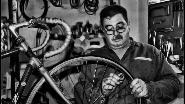 riparare la bici, toc toc firenze
