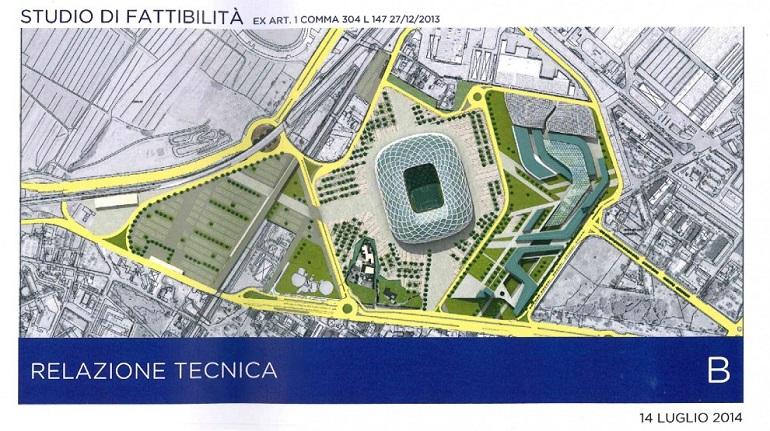 Nuovo stadio Fiorentina. Toc Toc Firenze