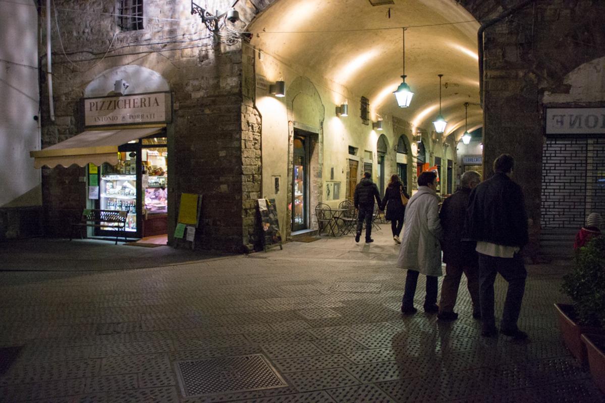 arco di San Pierino, toc toc firenze