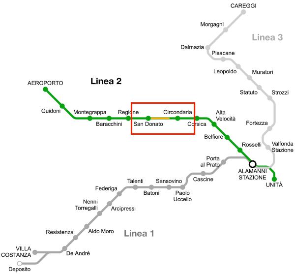 Mappa Terzolle-Mugnone