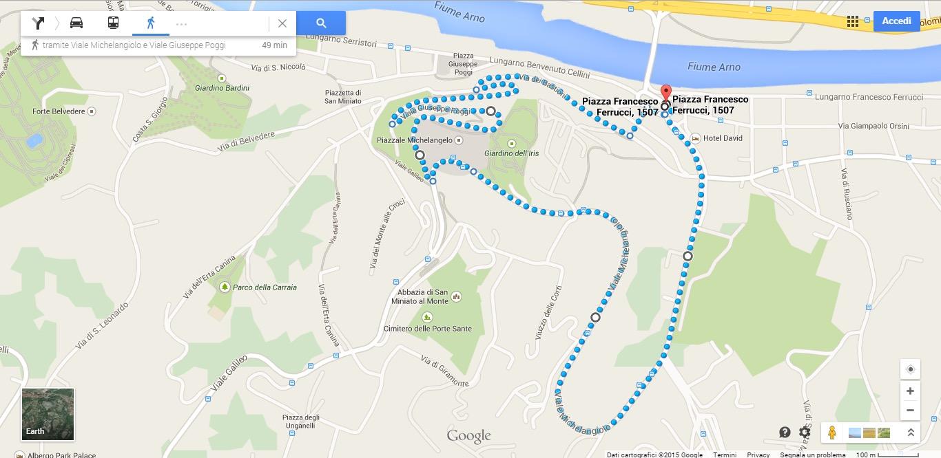 Jogging a firenze, Toc Toc Firenze