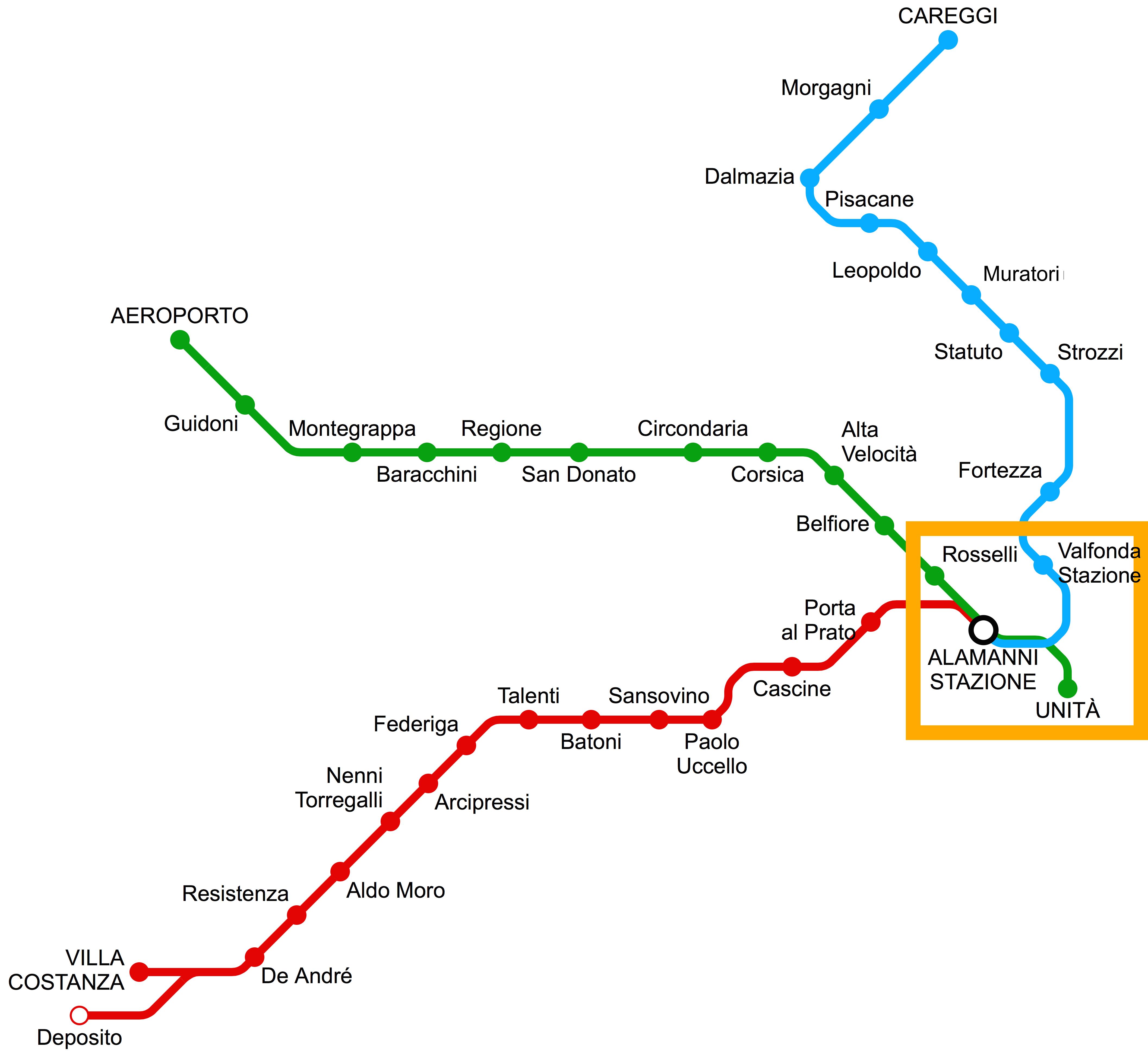 Mappa Stazione