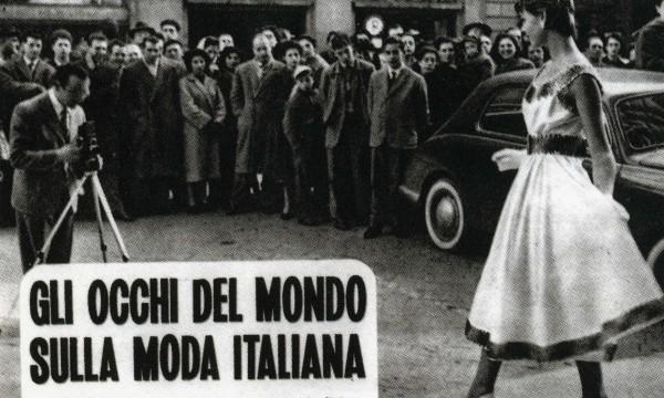 the latest b39b8 bb18b La prima sfilata di moda in Italia? A Firenze ovviamente ...