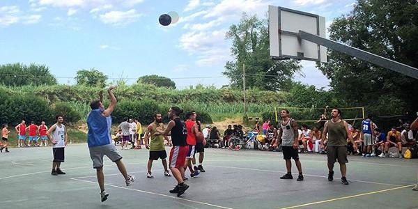 Basket a Firenze, toc toc firenze
