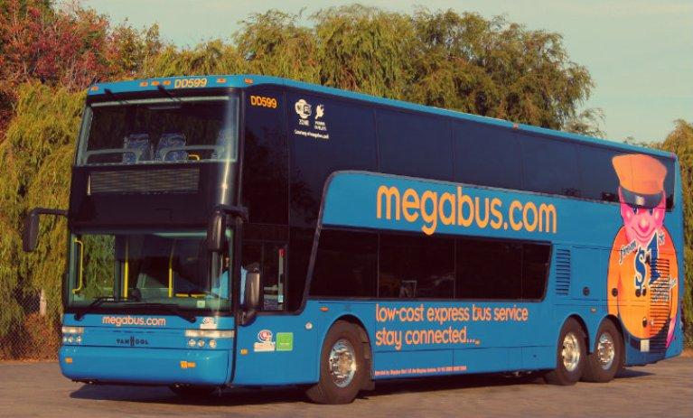 Megabus, toc toc