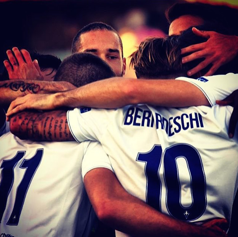 Beleinenses - Fiorentina, Toc Toc Firenze