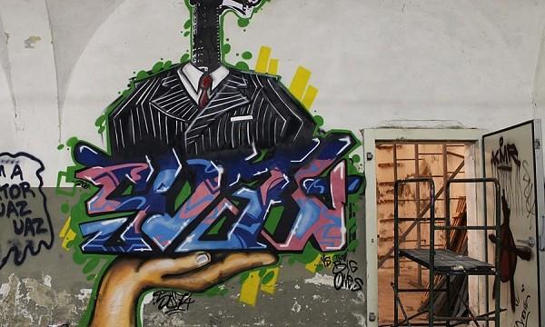 street art, toc toc firenze