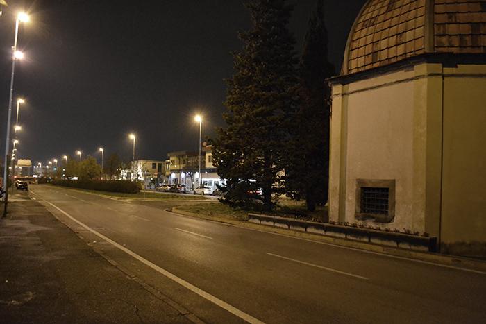Osmannoro di notte